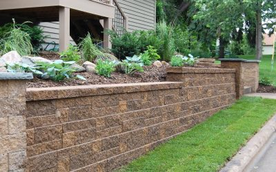 Retaining Wall, Landscaping Wall, Stone Wall, Flowewr Bed