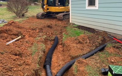 French Drains, Landscape Drain, Drain Tile, Rock Drain