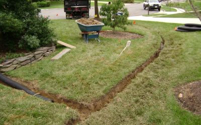French Drains, Drain Tile, Landscaping Drain, Rock Drain